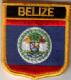 Flag Patch - Belize 07